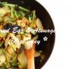生きくらげと厚揚げの美肌八宝菜☆マクロビレシピ