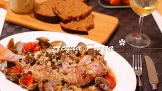 簡単失敗なしのおもてなし料理!アクアパッツァ☆地中海式ダイエット・グルテンフリーレシピ