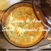 イライラ・疲れやすいのあなたへ!キヌアともちあわの甘い野菜スープ☆マクロビ・低血糖症改善レシピ