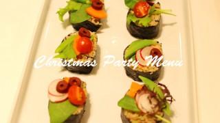 『聖なる夜を彩るパーティーメニュー』by滝田美智子先生に参加しました☆マクロビ・クッキングクラス