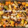 簡単!グリル野菜とバーニャカウダ風クルミ味噌ディップ☆マクロビ・グルテンフリーレシピ