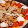 ダイエット中でも!きのこと大和芋の餅ピザ(パルミジャーノチーズ使用)☆マクロビ・グルテンフリーレシピ