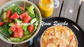 レンコンと山芋のソイチーズ・キッシュ☆ナチュラルダイエット・レシピ